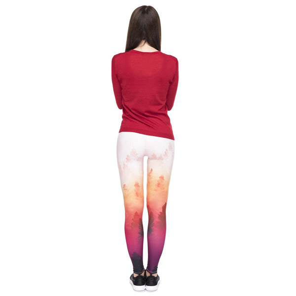 High quality leggings - Forest | Flamingolandia