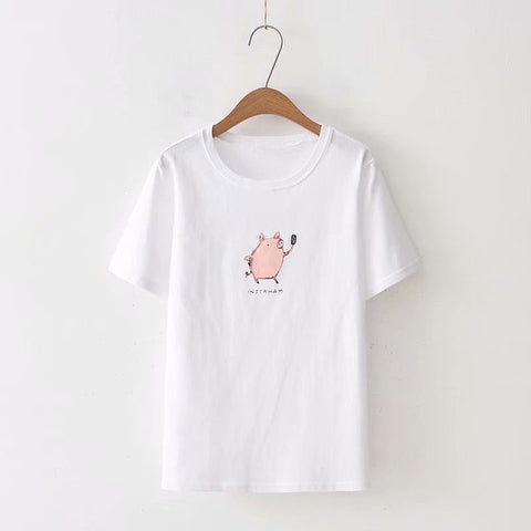 Super cute Insta lover t-shirt | 2 colors!,T-shirt | Women fashio shop|  Flamingolandia.online