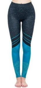Hig waist women legging - Starry Sea | Flamingolandia