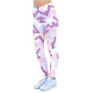 Leggings Geometric Shapes,Leggings | Women fashio shop|  Flamingolandia.online