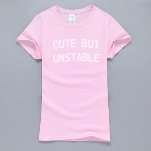 T-shirt - Cute But Unstable | Flamingolandia