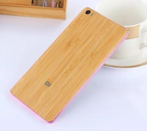 "Top quality  Bamboo back Battery Cover For Xiaomi Mi Note / Mi Note Pro 5.7"",Battery cover 