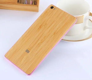 "Top quality  Bamboo back Battery Cover For Xiaomi Mi Note / Mi Note Pro 5.7"",Battery cover- Flamingolandia.online"