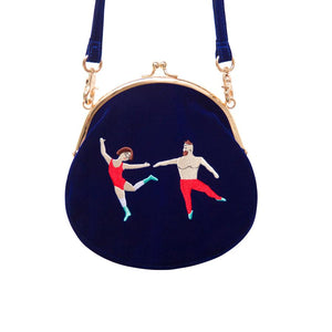 Vintage velvet round shape Original designed bag _ Let's dance,Bag | Women fashio shop|  Flamingolandia.online