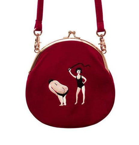 Vintage velvet round shape Original designed bag,Bag | Women fashio shop|  Flamingolandia.online