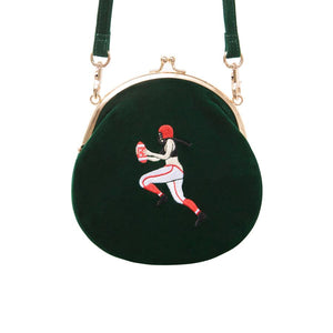 Vintage velvet round shape Original designed bag - Rugby,Bag | Women fashio shop|  Flamingolandia.online