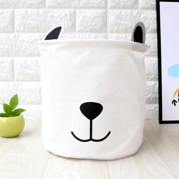 Waterproof Linen Baskets - Animals in the House,basket- Flamingolandia.online