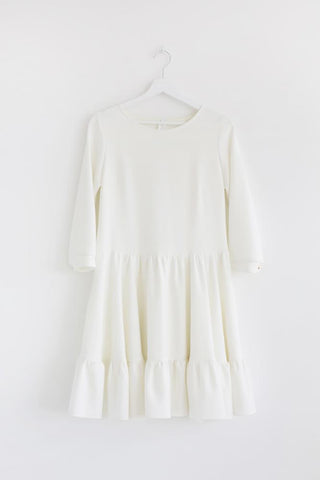 White cloud dress - Flamingolandia.online