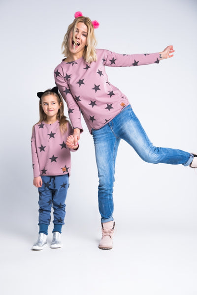 Nursing top - Pink Stars!,breastfeeding longsleeves | Women fashio shop|  Flamingolandia.online