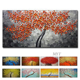 Abstract Canvas Knife Flower Oil Painting Decoration Modern Art 1pcs Handmade.  Many styles.    .