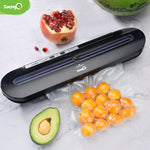 Best Vacuum Food Sealer 220V/110V Automatic commercial with 10 Pcs Bags.    4 colors