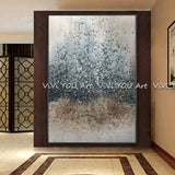 Large Size Handpainted Gold foil decorative Oil Painting On Canvas.   (50 options)