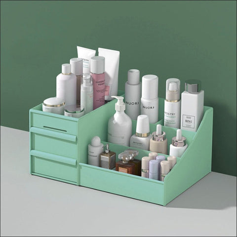 New Portable Lightweight Cosmetic Storage Box Plastic With Drawers