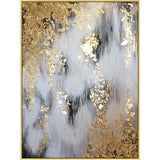Large size Oil Painting Modern painting art Abstract golden hand painted canvas-27 variants