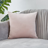 26colors Pillow Cover Velvet Cushion Covers.