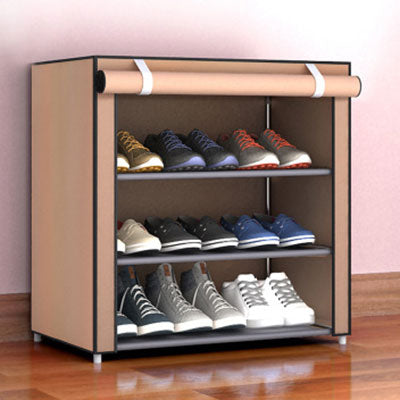 Simple Shoe Rack Dust proof Storage Shoe Cabinet Multi-layer Small Shoe Rack
