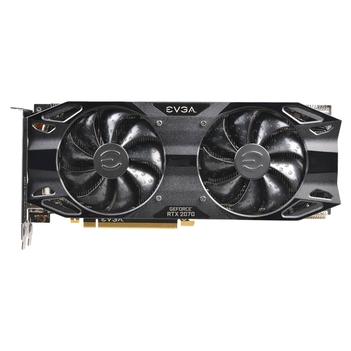 EVGA 08G-P4-1171-KR GeForce RTX2070 XC BLACK EDITION GAMING, 8GB GDDR6, Dual HDB Fans - We Love tec