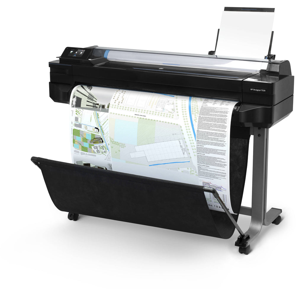 HP DesignJet T520, 24-inch Wireless Large-Format Inkjet Color ePrinter, CQ890C#B1K - Free Shipping - We Love tec