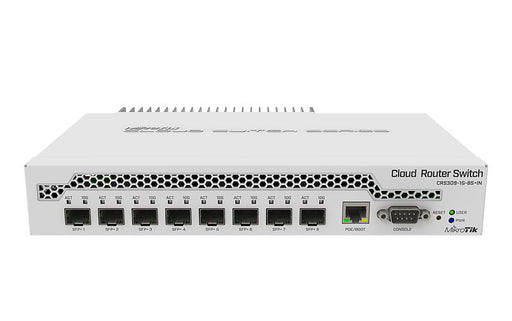 MikroTik CRS309-1G-8S_IN Cloud Router Switch 800MHz 512MB 8xSFP+ - We Love tec