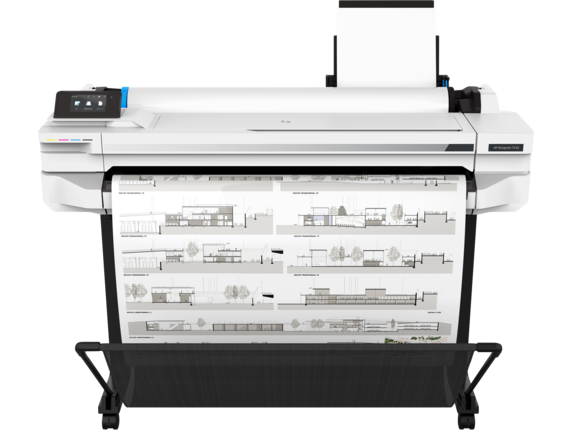 HP DesignJet T530, 36-inch Printer, NEW MODEL, 5ZY62A - Free Shipping - We Love tec
