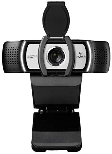 Logi C930e 1080P HD Video Webcam - with Privacy Shutter - 90-Degree Extended View, Microsoft Lync 2013 and Skype Certified - International Version