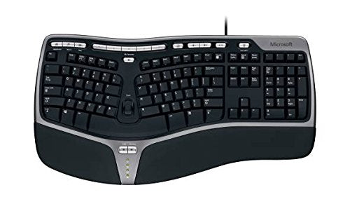Microsoft 5QH-00001 Natural Ergonomic Keyboard 4000 for Business, Wired - We Love tec