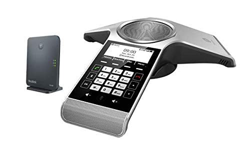 Yealink CP930W DECT IP Conference Phone and Base Station with 16GB microSD Memory Card for Recording Calls + USB SD Card Reader - We Love tec