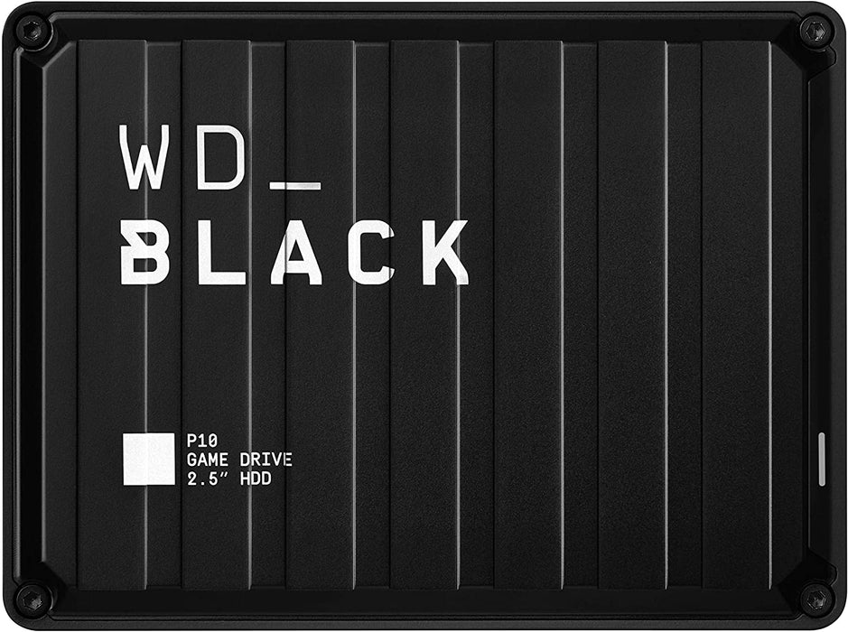 Western Digital WD Black 4TB P10 Game Drive, Compatible with PS4, Xbox One, PC, & Mac - WDBA3A0040BBK-WESN