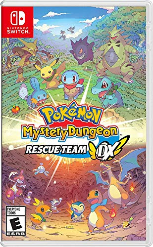 Pokemon Mystery Dungeon: Rescue Team Dx - Nintendo Switch [video game]
