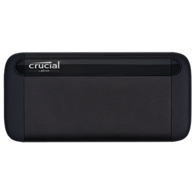 Crucial X8 2TB Portable SSD - Up to 1050MB - s - USB 3.2 - External Solid State Drive, USB-C, USB-A - CT2000X8SSD9