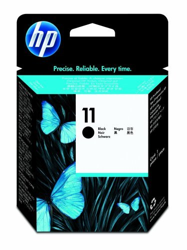 HP 11 Printhead Ink Cartridge, Black, C4810A - We Love tec