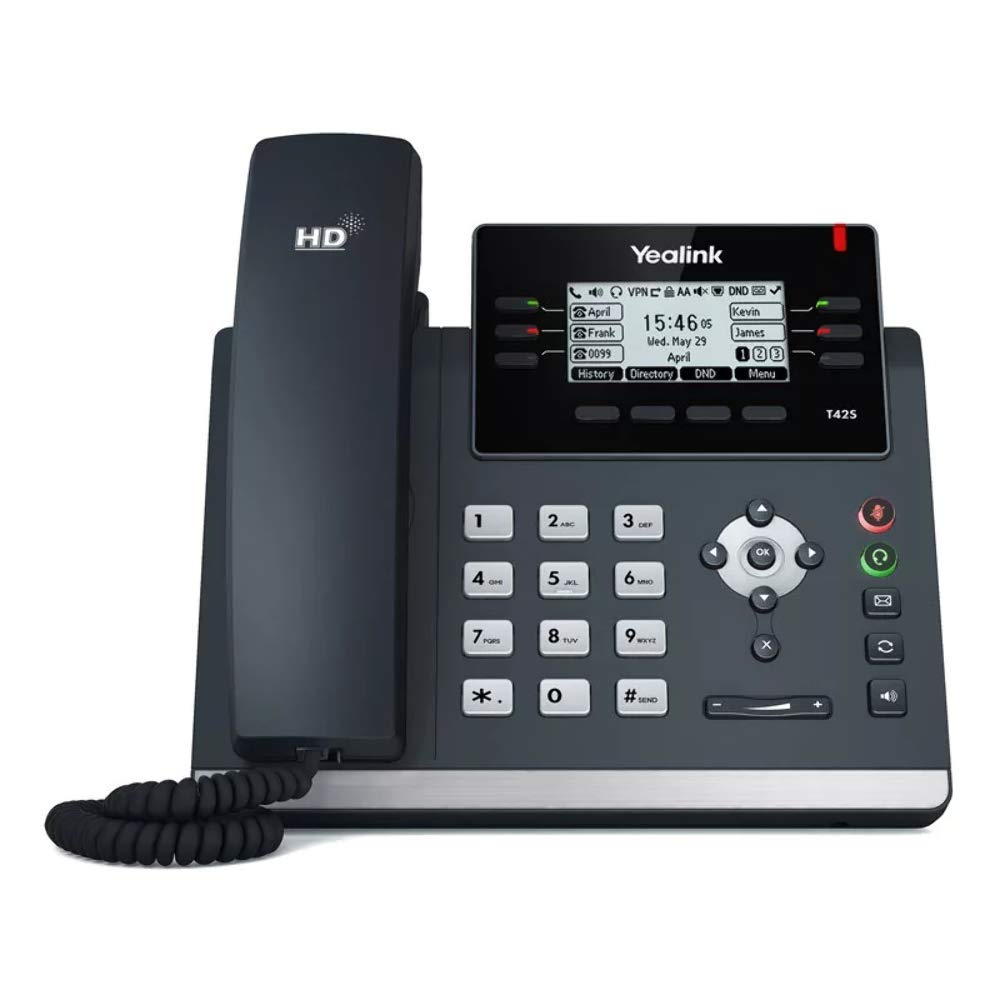 Yealink SIP-T42S IP Phone - We Love tec