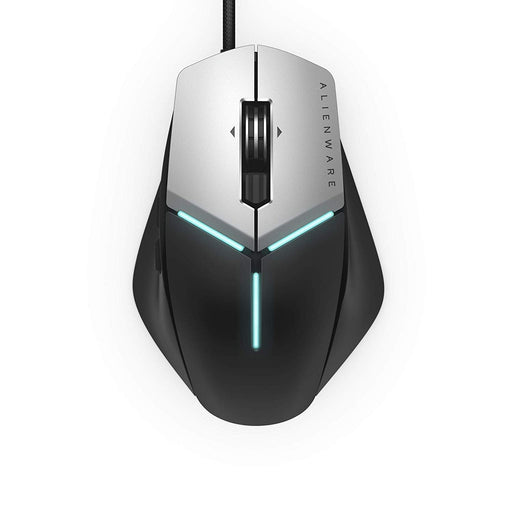Dell AW959-BK Alienware Elite Gaming Mouse with 12,000 DPI Pixart Optical Sensor Featuring Redesigned Side Wings for Improved Grip and Alienfx with RGB Lighting - We Love tec
