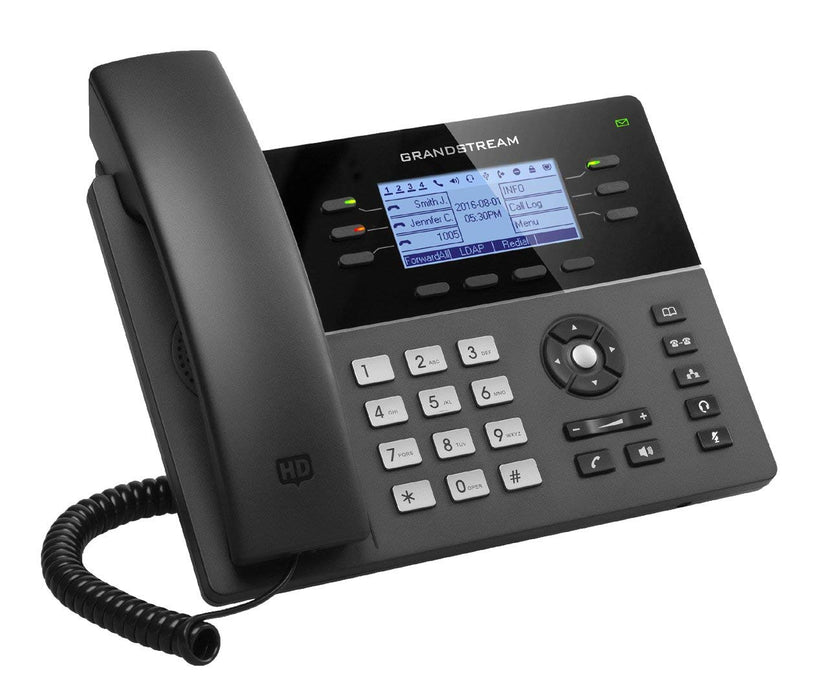 Grandstream GXP1760W Mid-Range Wi-Fi Enabled IP Phone, VoIP Phone with PoE, 6 Lines - We Love tec