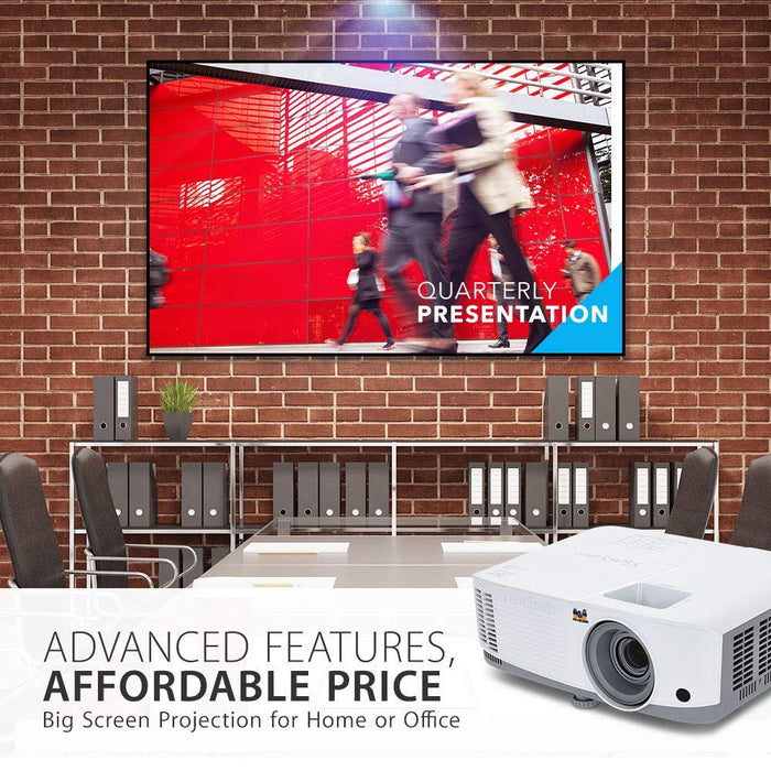 ViewSonic 3,600 Lumens WXGA High Brightness Projector for Home and Office with HDMI Vertical Keystone and 1080p Support, VIE-PA503W - We Love tec
