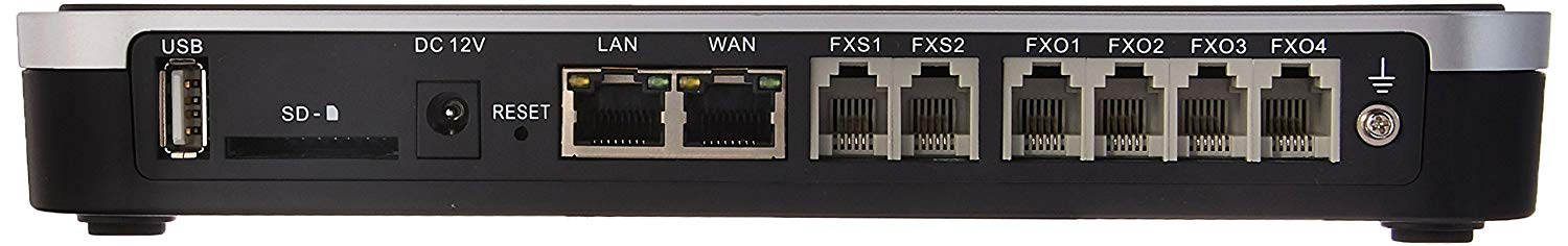 Grandstream UCM6204 IP PBX with 4 FXO and 2 FXS Ports - We Love tec