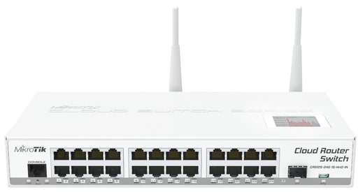 MikroTik CRS125-24G1S2Hn Cloud Router Switch 600MHz 128MB 24xGb - We Love tec
