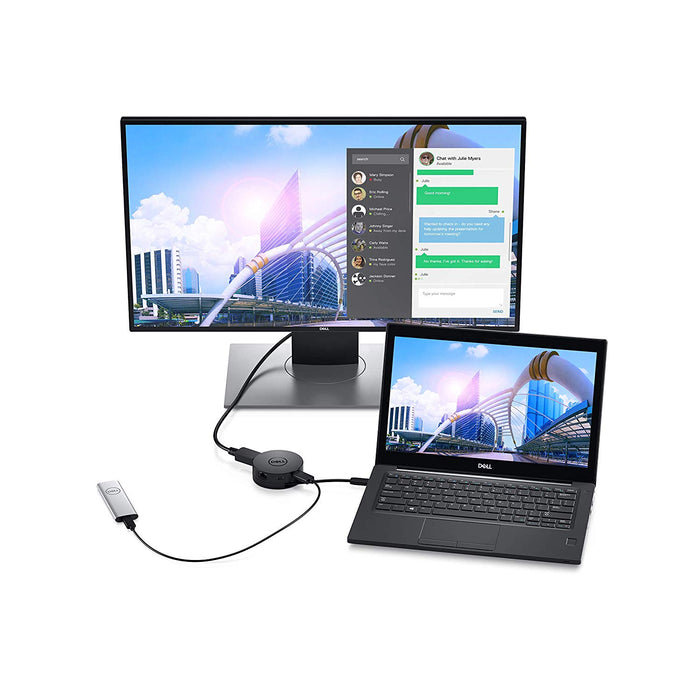 Dell DA300 Portable Docking USB-C Video Adapter 6-in-1 - We Love tec