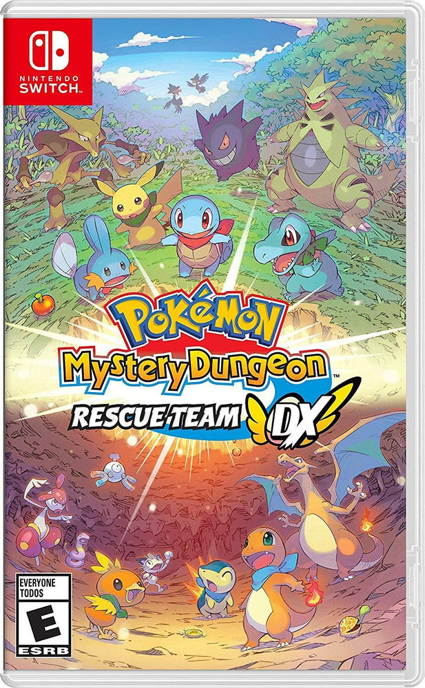 Pokemon Mystery Dungeon: Rescue Team Dx - Nintendo Switch - We Love tec