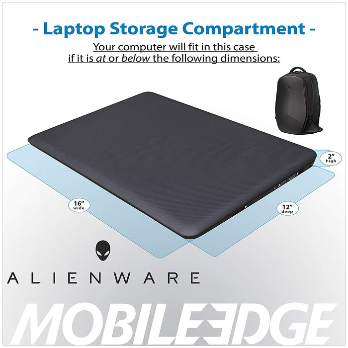 "Dell A9213500 Alienware Backpack 15"" - We Love tec"