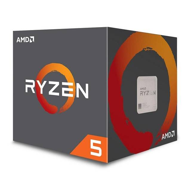 AMD Ryzen 5 1600 YD1600BBAFBOX Processor Six-Core 3.2GHz Socket AM4, CPU Retail