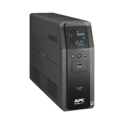 APC BR1350M2-LM Back UPS PRO BR 1350VA, 10 Outlets, 2 USB Charging Ports, AVR, LCD interface, LAM - We Love tec
