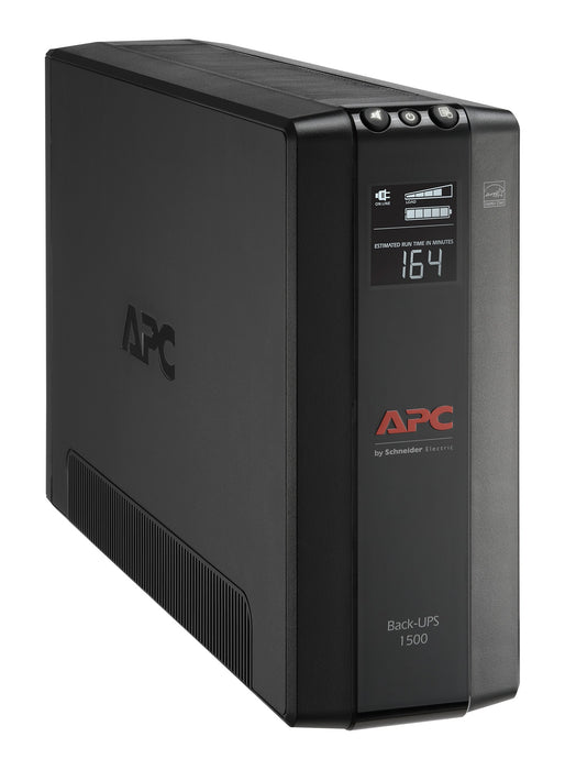 APC BX1500M-LM60 Back UPS Pro BX 1500VA, 10 Outlets, AVR, LCD interface, LAM 60Hz - We Love tec