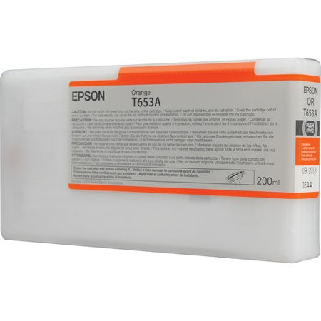 EPSON T653A00 Orange Ink Cartridge for Stylus Pro 4900, 200ml - We Love tec