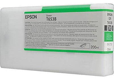 EPSON T653B00 Green Ink Cartridge for Stylus Pro 4900, 200ml - We Love tec