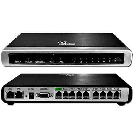 Grandstream GXW4108 VoIP Gateway with 8 FXO Ports and Dual 10/100 Network Ports - We Love tec