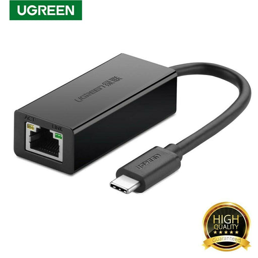 UGREEN USB 2.0 Type C 10/100Mbps Ethernet Adapter 110mm