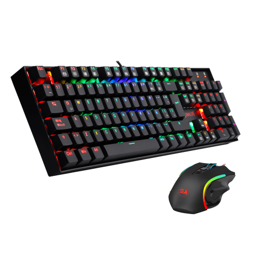 Redragon K551RGB + M607, 2 in 1 Combo Gaming Mouse and Keyboard, English - We Love tec