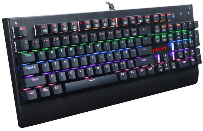 Redragon K557RGB KALA Removable Mechanical Gaming Keyboard, Black, English - We Love tec