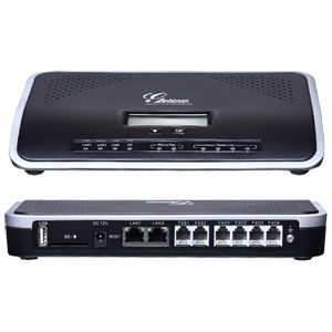 Grandstream UCM6104 IP PBX with 4 FXO and 2 FXS Ports - We Love tec